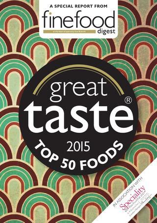 Great Taste Top50 2015 - Wild Oak Honey