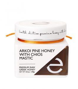 pine honey with mastiha
